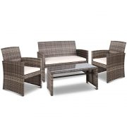 Rattan Chairs & Table